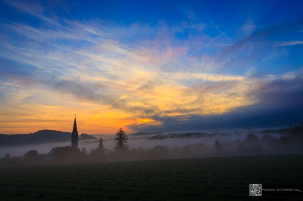 Sunset - Church